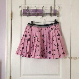 Fleamadonna x FILA pleated skirt